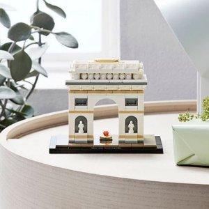 史低价$37.99(原价$49.99)LEGO Arc De Triomphe巴黎凯旋门套装