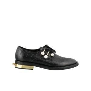 coliac金色跟珍珠鞋