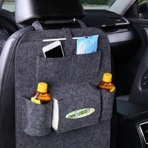 $21.16(原价$49.99)汽车座椅收纳袋 能收纳不怕脏 简化旅行 轻松无忧 2个装