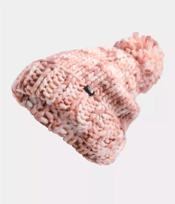 女士防寒针织帽