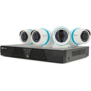$249.99 (原价$599.99)ezviz BN-1424A1 4路 4摄像头 1080p 1TB视频监控系统