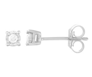 1/10-ct T.W. Diamond earrings @ Kohl's