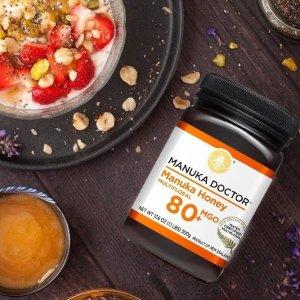 $13.5Dealmoon Exclusive: Manuka Doctor 80 MGO Manuka Honey 1.1lb