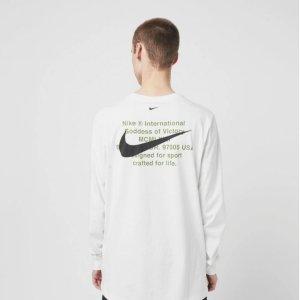 低至5折 £19收双勾短袖Nike Swoosh 双勾系列热促