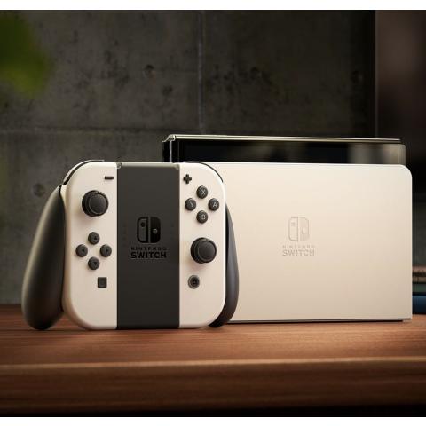 定价€359.99 预售已开启Nintendo OLED屏升级版Switch 10月8日上市 全新白色上线