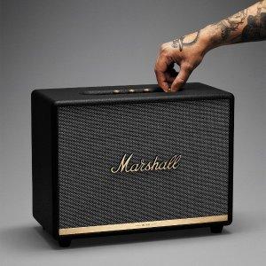 $584.19(原价$681)Marshall Woburn II 小众复古 无线蓝牙音箱