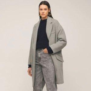 "Isabel Marant Etoile""LIMI""羊毛混纺短款大衣"