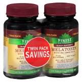 Finest Nutrition Melatonin 10 mg | Walgreens