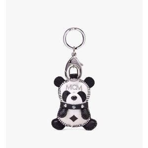 MCM熊猫挂件
