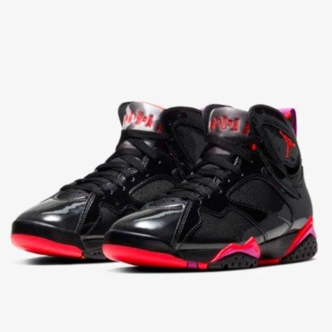 31日 美东10点 $190包邮Air Jordan 7 Black Gloss 新款配色即将发售 女生专享