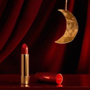 新年限定+任意单送Chanel睫毛膏Gucci 美妆香氛上新 收新年限定红管唇膏、丝润真肌底妆