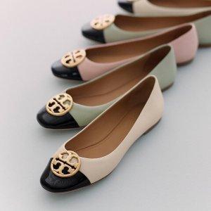 低至6折+额外7折延长一天:Tory Burch官网精选美鞋热卖 收娜扎同款踝靴