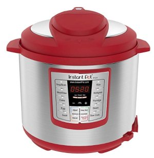 Instant Pot Lux 6 Qt Red 6-in-1 Muti-Use Programmable Pressure Cooker
