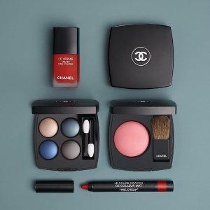 $22起 退税17%低过黑五:Chanel 精选彩妆护肤品9折促销 收四色眼影,丝绒唇膏