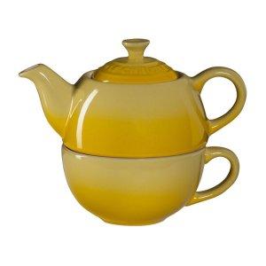 Le Creuset单人茶壶茶杯套装
