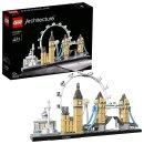 现价£38.94(原价£44.99)LEGO伦敦建筑系列闪促 同时拥有大本钟、伦敦眼、塔桥的幸福