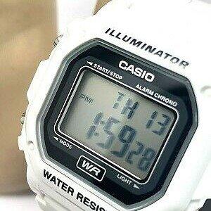 7.4折 $20.22(原价$27.27)Casio 中性款 F-108WHC-7ACF 经典白色树脂表带手表