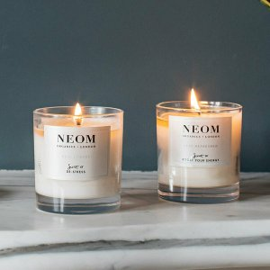 7.8折!£12收EMMA同款香薰蜡烛Neom 有机芳疗香薰品牌热卖!提升居家幸福感好物!