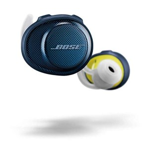 Bose蓝色耳机豆
