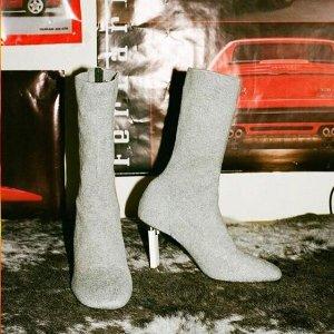 低至2.5折+额外7.5折 大牌平价替代Jeffrey Campbell 性感前卫美鞋热卖 收袜子鞋、老爹鞋