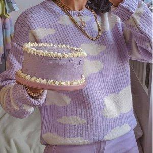 低至5折 €11收紫色毛绒拖鞋ASOS 香芋紫单品热卖 收软糯针织衫、休闲卫衣 春日小温柔
