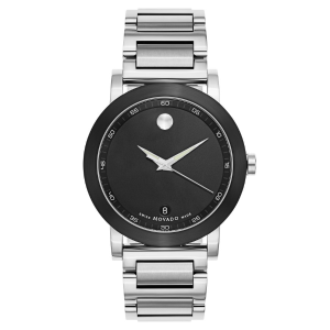 Ending Soon: Dealmoon ExclusiveMOVADO Museum  Men's Watch 0606604