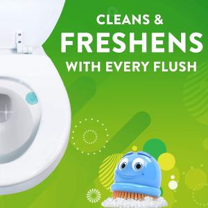$3.4(原价$4.87)Scrubbing Bubbles 马桶清洁凝胶6剂 家居清洁更轻松