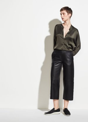 Leather Culotte for Women | Vince