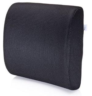 $29.97(原价$44.97)MemorySoft记忆海绵腰部支撑垫,调节脊椎 缓解尾骨压力