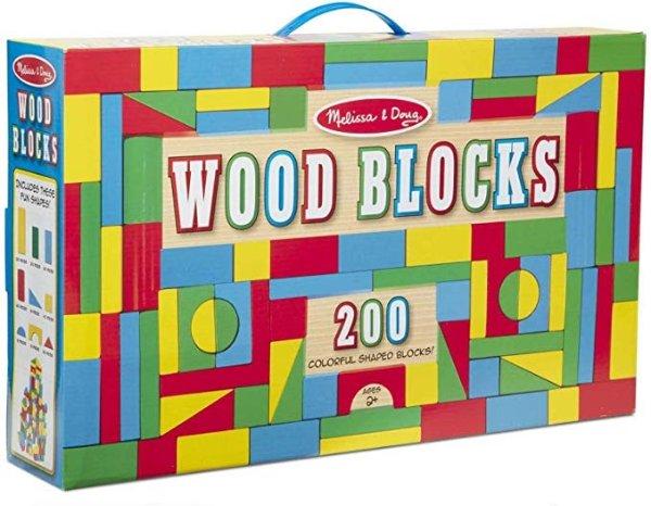 200 木质积木