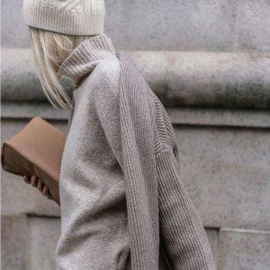 6折起+额外7折 $69纯羊毛毛衣Club Monaco 毛衣专场 $174收纯羊绒高领毛衣