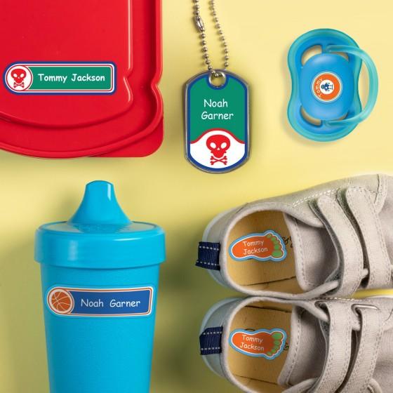 Label Land 幼儿园 个人定制标贴100枚综合套装