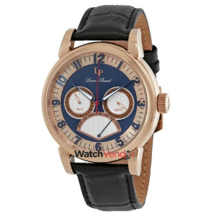 1.2折 $59.99(原价$545)Lucien  Piccard 卢森皮卡尔 皮带男士休闲手表