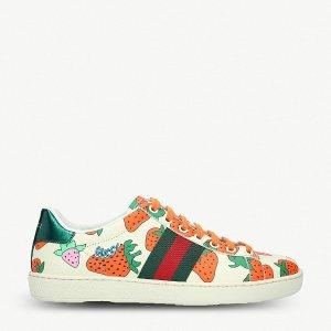 Gucci新款小草莓运动鞋