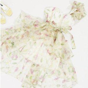 3折起+全部9折 £6就收碎花裙!ASOS 田园风惊喜大促 超多好看白菜美衣