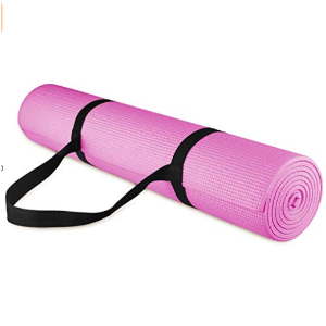 $12.99BalanceFrom GoYoga All Purpose High Density Non-Slip Exercise Yoga Mat with Carrying Strap