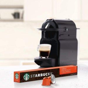 80颗仅€30星巴克✖️Nespresso 咖啡胶囊 好咖啡在家做 6种口味