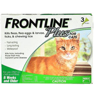 PetCareSupplies Frontline Plus Flea and Tick Control for Cats