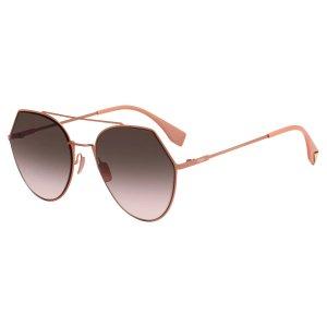 Fendi FF 0194/S Women's Oval Sunglasses