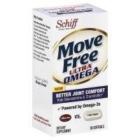 Move Free 维骨力 + 磷虾油Omega-3(紫瓶)