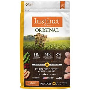 InstinctOriginal Grain Free Recipe with Real Chicken Natural Dry Cat Food by Nature's Variety | Petco