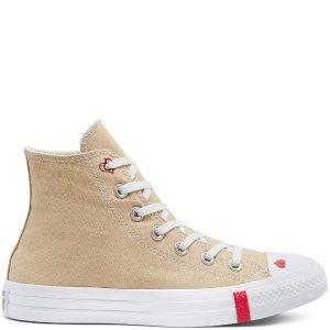 Converse鞋头小心心