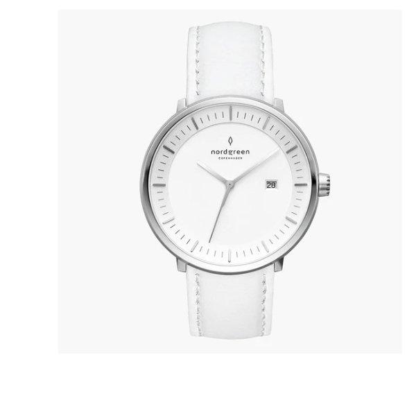 Philosopher 白色表带手表