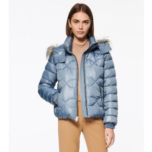 Andrew MarcPONCE SYNTHETIC DOWN QUILTED BOMBER JACKET