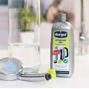 500ml折后€2.99 原价€5durgol 去水垢清洁剂 清除99.5%的水垢 比食用醋快5倍 可降解