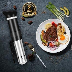 低至7.6折 €67.99收封面款真空低温烹煮棒专场热卖 做出米其林餐厅的味道