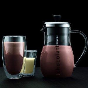 2个只要€19.47 丹麦设计Bodum 双层玻璃杯 隔冷隔热 饮品好搭档