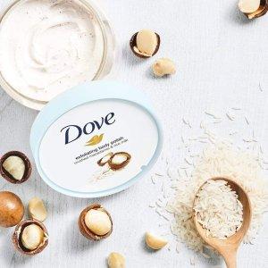 $5.99(Well.ca$13.49)Dove 冰激凌磨砂膏298g 澳洲坚果+牛奶大米 即刻改善粗糙鸡皮