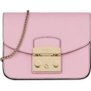 Furla粉色小方包