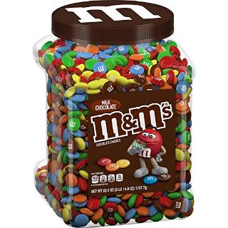 $9.98M&M'S 牛奶巧克力 62oz 1罐